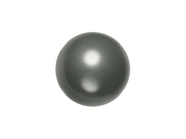 Swarovski crystal pearl 8mm, dark grey