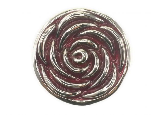 Click-it Button Rose, 18 mm, rot