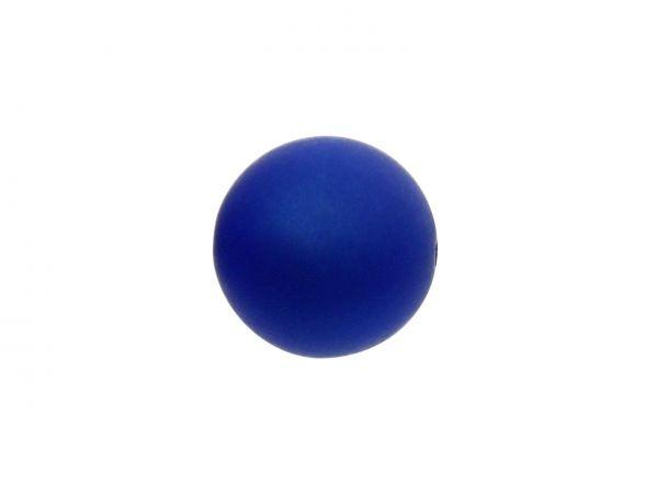 Polarisperle 16mm matt, royalblau