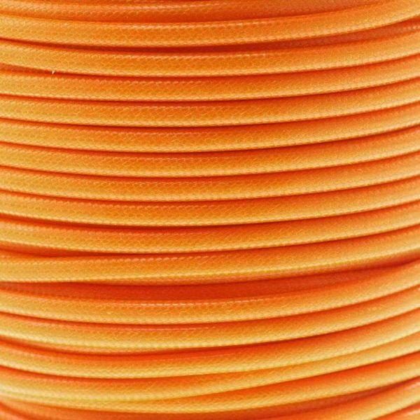 Textilschnur (Polyester) 3mm 1,00m Zuschnitt, orange