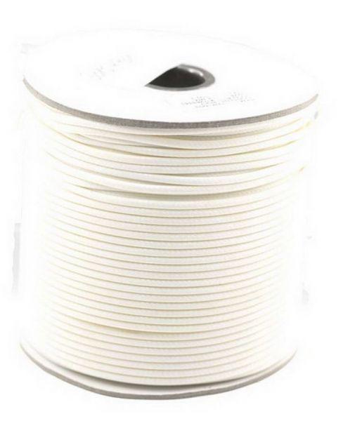 Textilschnur (Polyester) 2mm 1,00m Zuschnitt, wollweiß