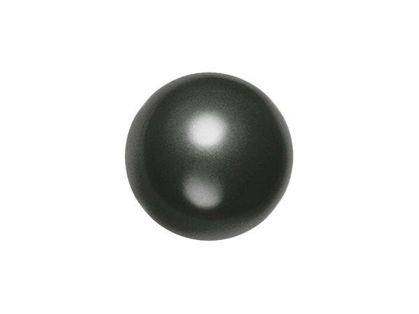 Swarovski crystal pearl 6mm, black