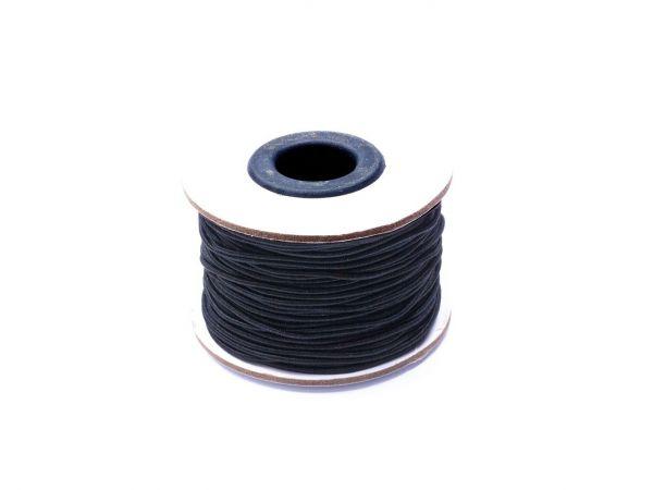 Gummischnur, ca. 1,5mm dick, 45m Rolle, weiss