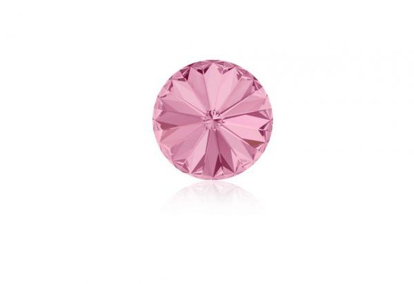 Swarovski - Crystalstein rund 12mm light rose