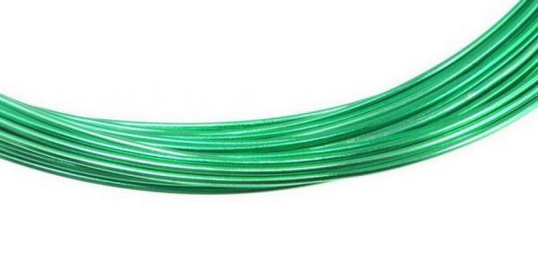 Aluminium Draht, 1mm, 10,00 m, grün