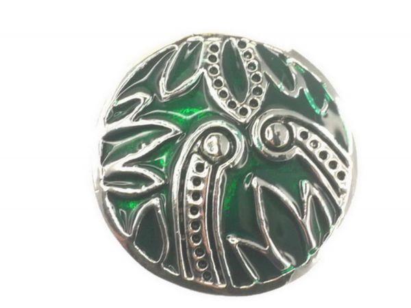 Click-it Button Snake, 18 mm, grün