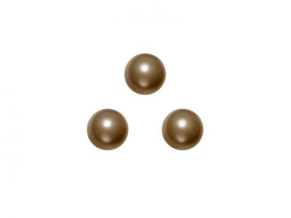 Swarovski crystal pearl 6mm, 40, brown