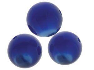 Solaris kristall Perle 14mm dkl blau
