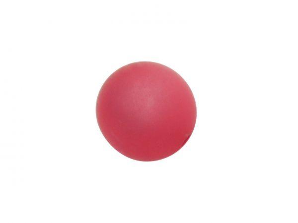 Polarisperle 12mm matt, pink