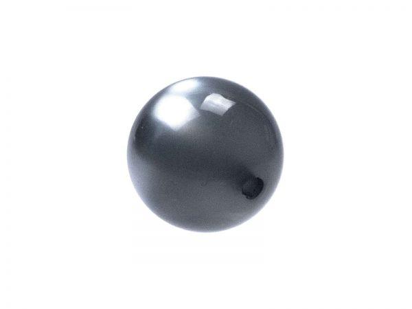 Polarisperle glänzend 14mm denim