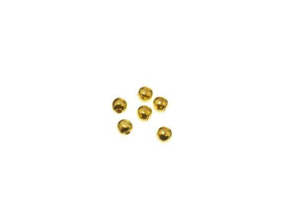 Sterlingsilber Perle 3,0mm vergoldet Einheit=10gr.