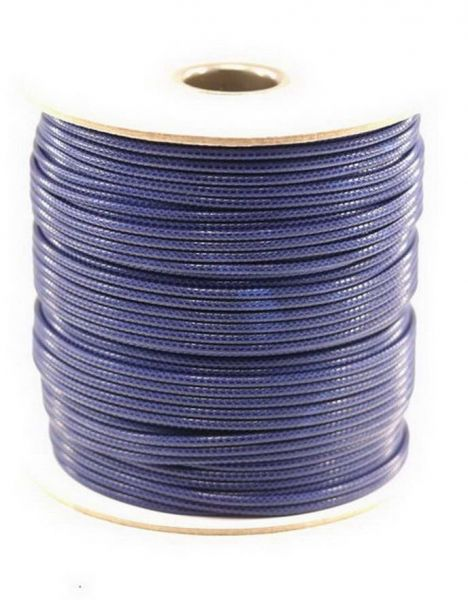 Textilschnur (Polyester) 1,5mm 1,00m Zuschnitt, dkl.blau