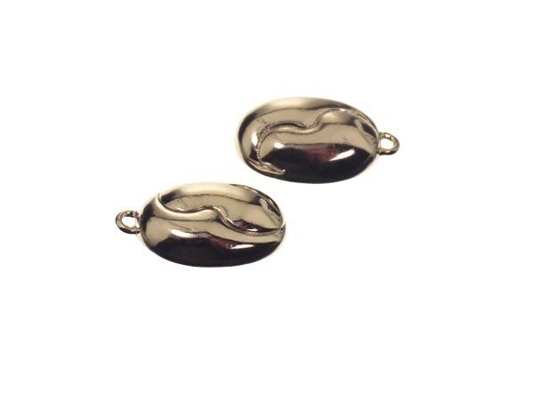 Magnetverschluß Sterlingsilber 10x15mm, oval