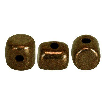 MINOS® PAR PUCA® 10gr., Glasperlen, DARK GOLD BRONZE