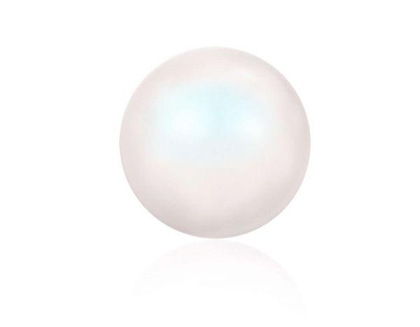 Swarovski crystal pearl 6mm, pearlescent white
