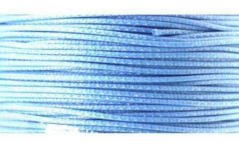 Textilschnur (Polyester) 3mm 1,00m Zuschnitt, aqua