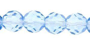 Crystal-Schliffperlen, preiswerte Qualität, 10mm Strang , ca. 35