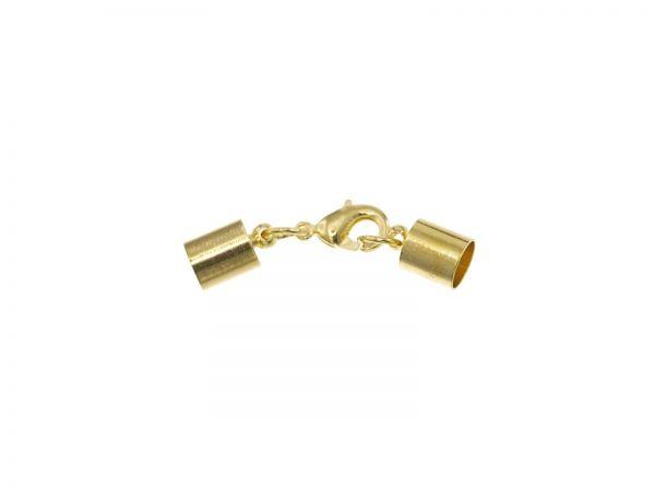 Kappelverschluss 6mm, goldfarben