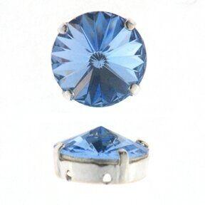 Kessel m.Swarovski-Crystal 14mm l.sapphire
