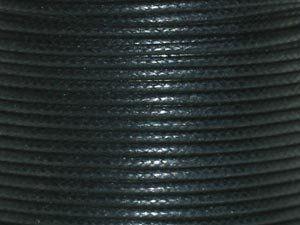 Baumwollschnur 1.5mm 1,00m schwarz