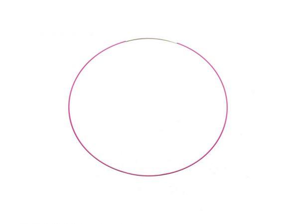 Drahtcollier easy 1mm 45cm pink