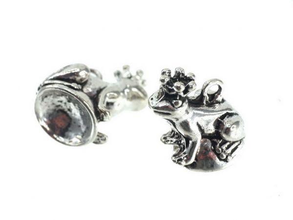 Perlenfiguren Anhänger Frosch ca.20mm