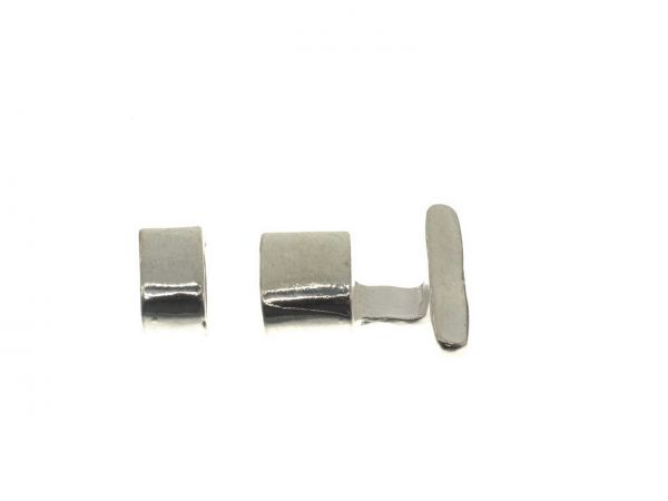 Knebelverschluss flach Innendurchmesse ca.5x10mm