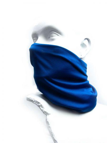 Schlauchschal 50x22cm, Polyester, blau