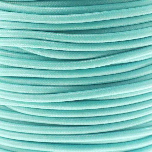 Textilschnur (Polyester) 3mm 45m Rolle, türkis