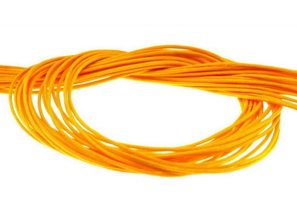 Textilband ca. 1mm dick 1,00 m gelb