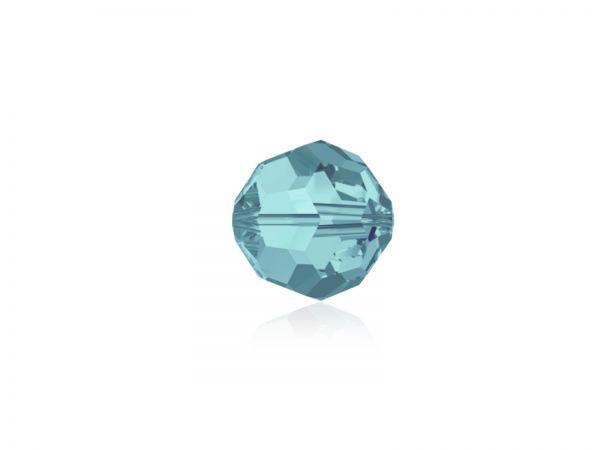 Swarovskiperle 5000, rund, 8mm,light turquoise