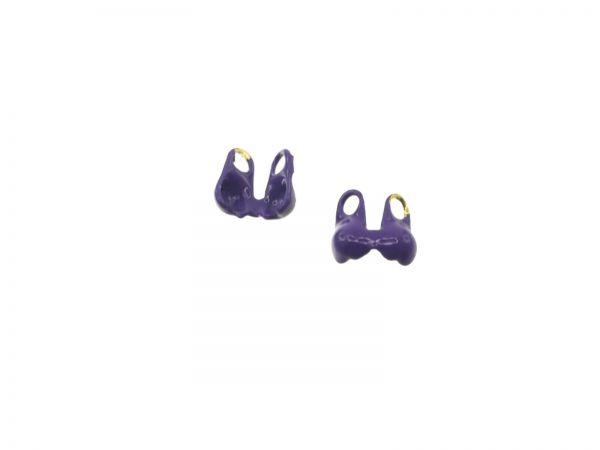 Kalotten color, ca.1,5mm, lila