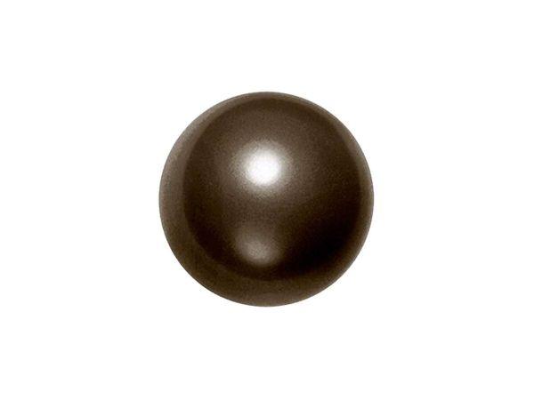 Swarovski crystal pearl 6mm, deep brown