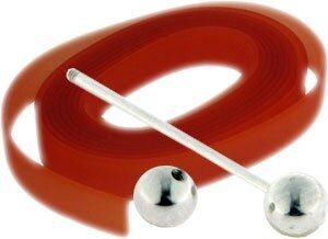 Ringset 10mm Kunststoffband ,länge 10cm+19mm Stab, orange